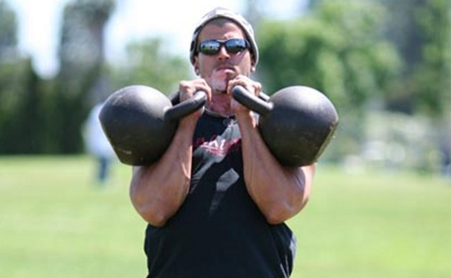 Mike Mahler training